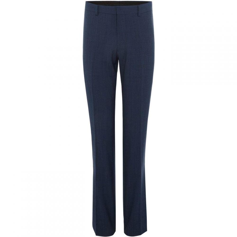 サイモン カーター Simon Carter メンズ スラックス ボトムス・パンツ【Pow Check Suit Trouser】Blue