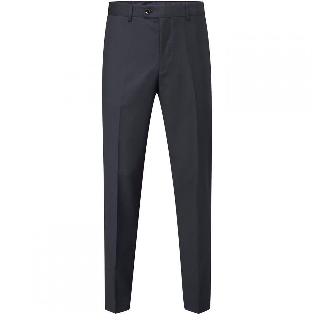 スコープス Skopes メンズ スラックス ボトムス・パンツ【Farnham Commuter Suit Trouser】Navy Blue