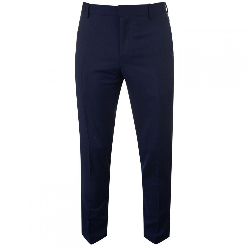 トミー ヒルフィガー Tommy Hilfiger Tailoring メンズ スラックス ボトムス・パンツ【Tommy Slim Striped Suit Trousers】Navy