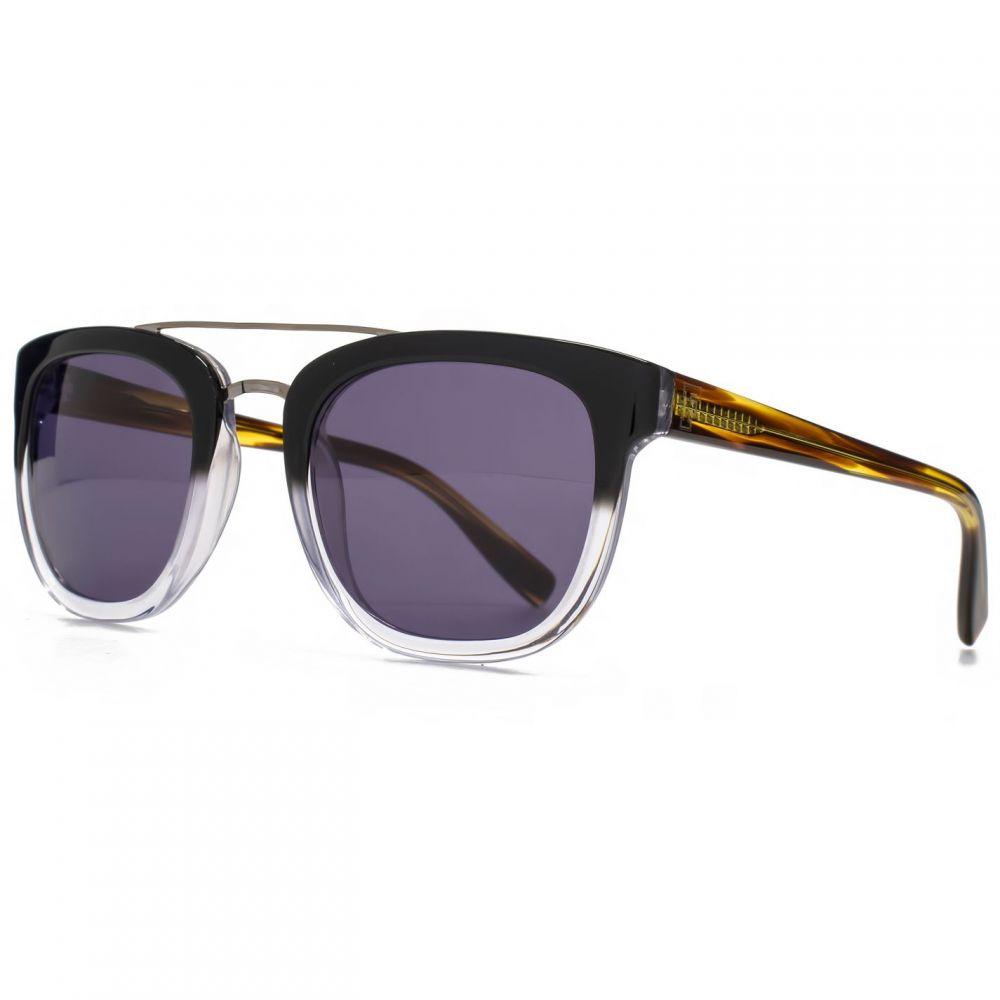 フレンチコネクション French Connection メンズ メガネ・サングラス 【26FCA033 Black Retro Sunglasses】Black
