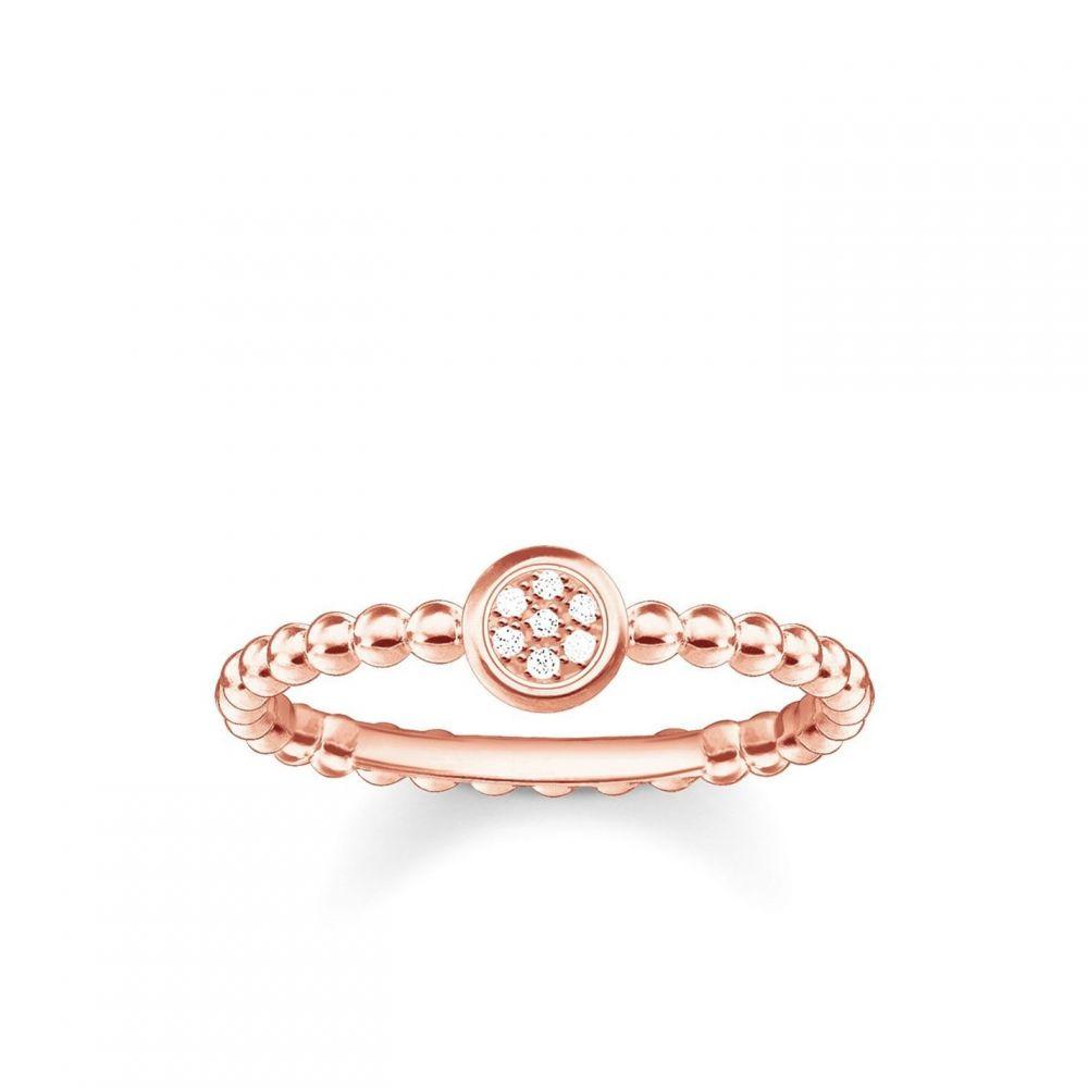 トーマスサボ Thomas Sabo メンズ 指輪・リング ジュエリー・アクセサリー【Glam & soul rose gold diamond ring】Metallic
