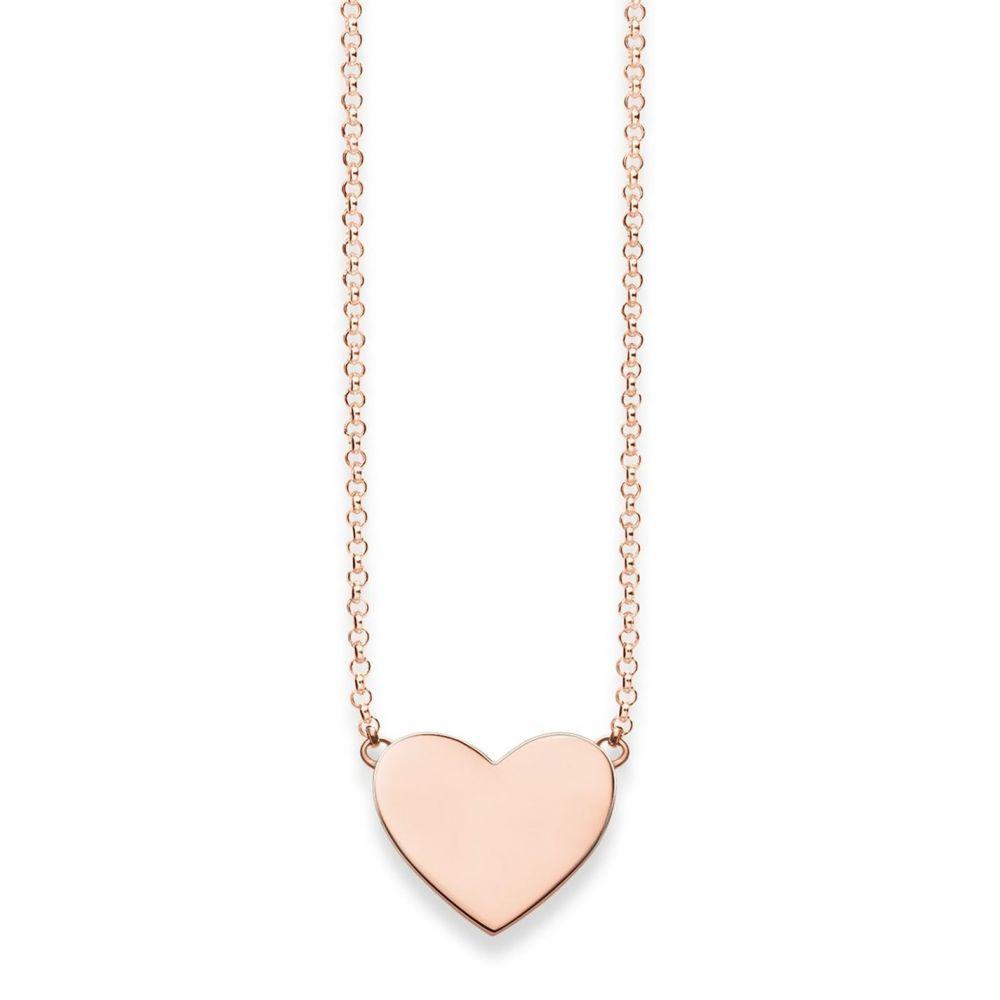 トーマスサボ Thomas Sabo メンズ ネックレス ハート ジュエリー・アクセサリー【Classic Silver Heart Tag Necklace】