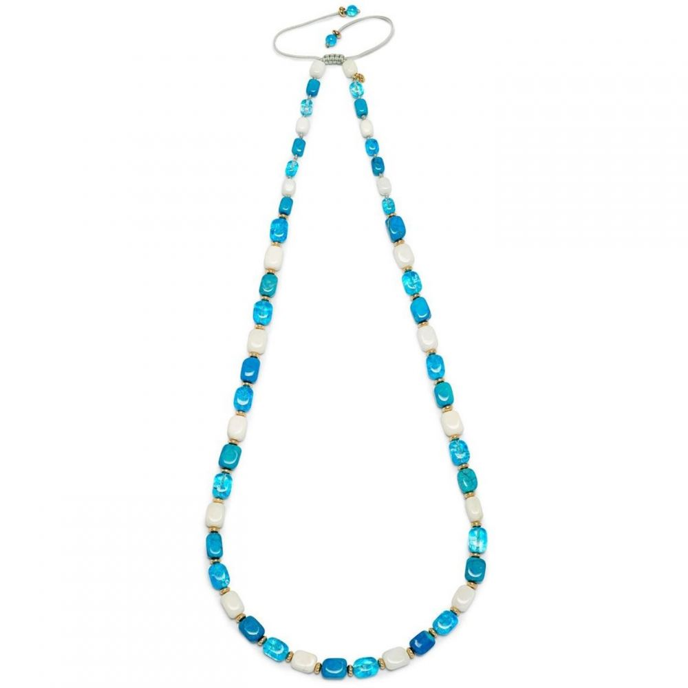 ローラ ローズ Lola Rose メンズ ネックレス ジュエリー・アクセサリー【Islington Necklace Azure Blue Magnesite】Multi-Coloured