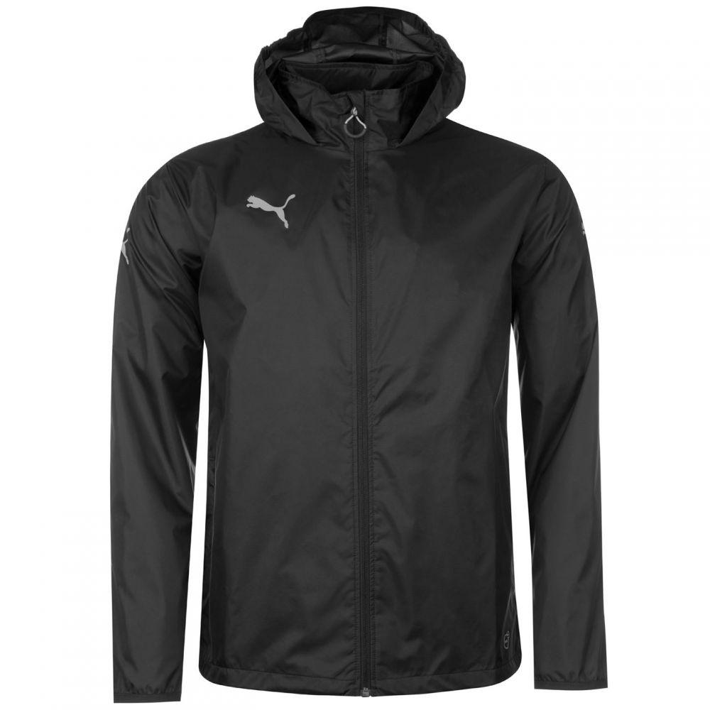 10%OFF プーマ メンズ アウター レインコート Black Essential Puma Jacket Rain サイズ交換無料 特売