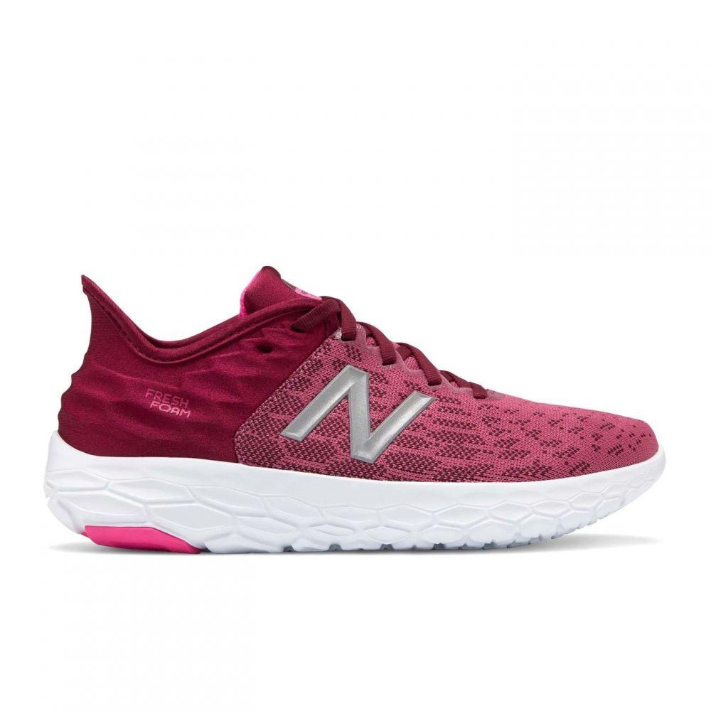 ニューバランス New Balance レディース スニーカー シューズ・靴【Fresh Foam Beacon v2 Trainers】Red/White