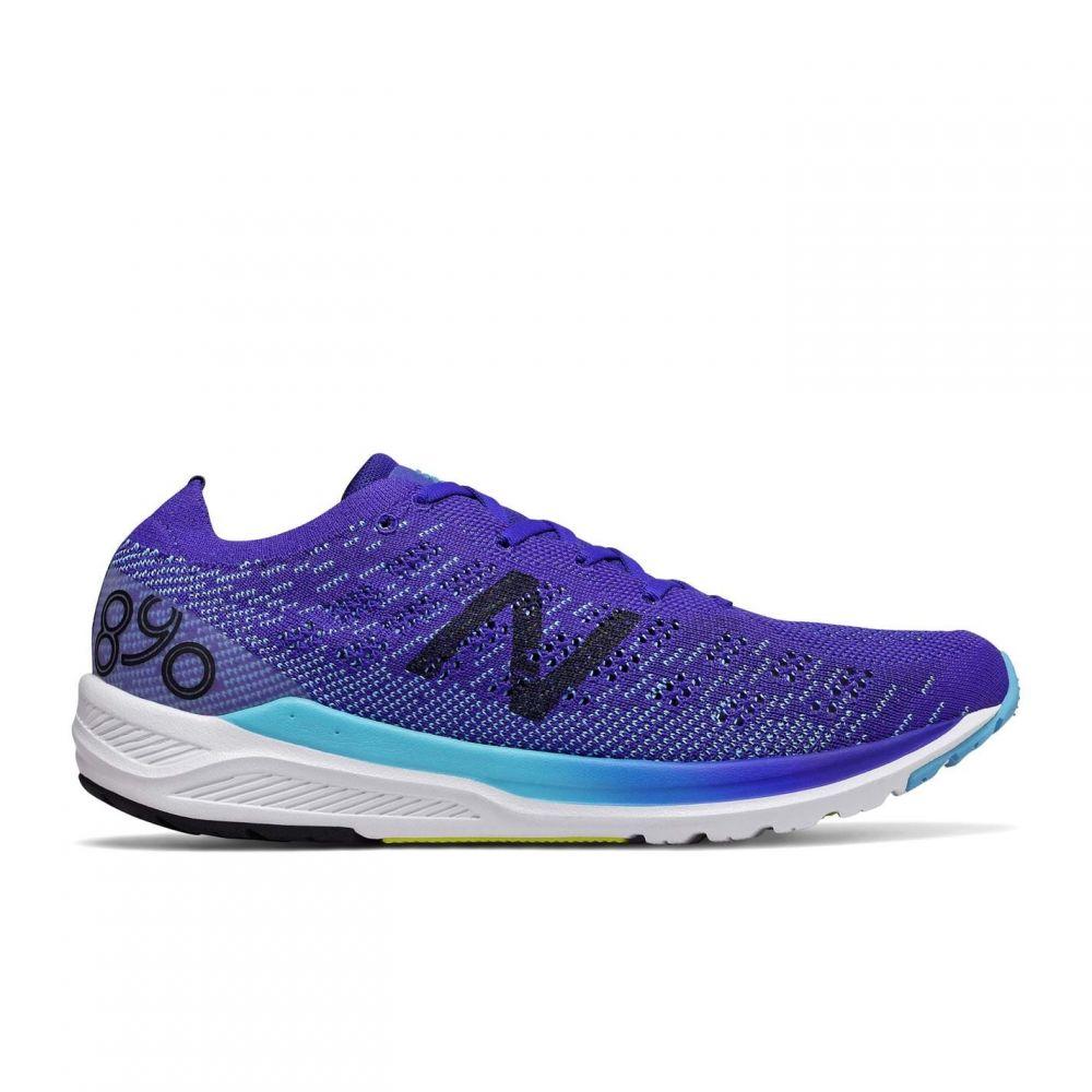 ニューバランス New Balance メンズ スニーカー シューズ・靴【890v7 Trainers】Blue/White