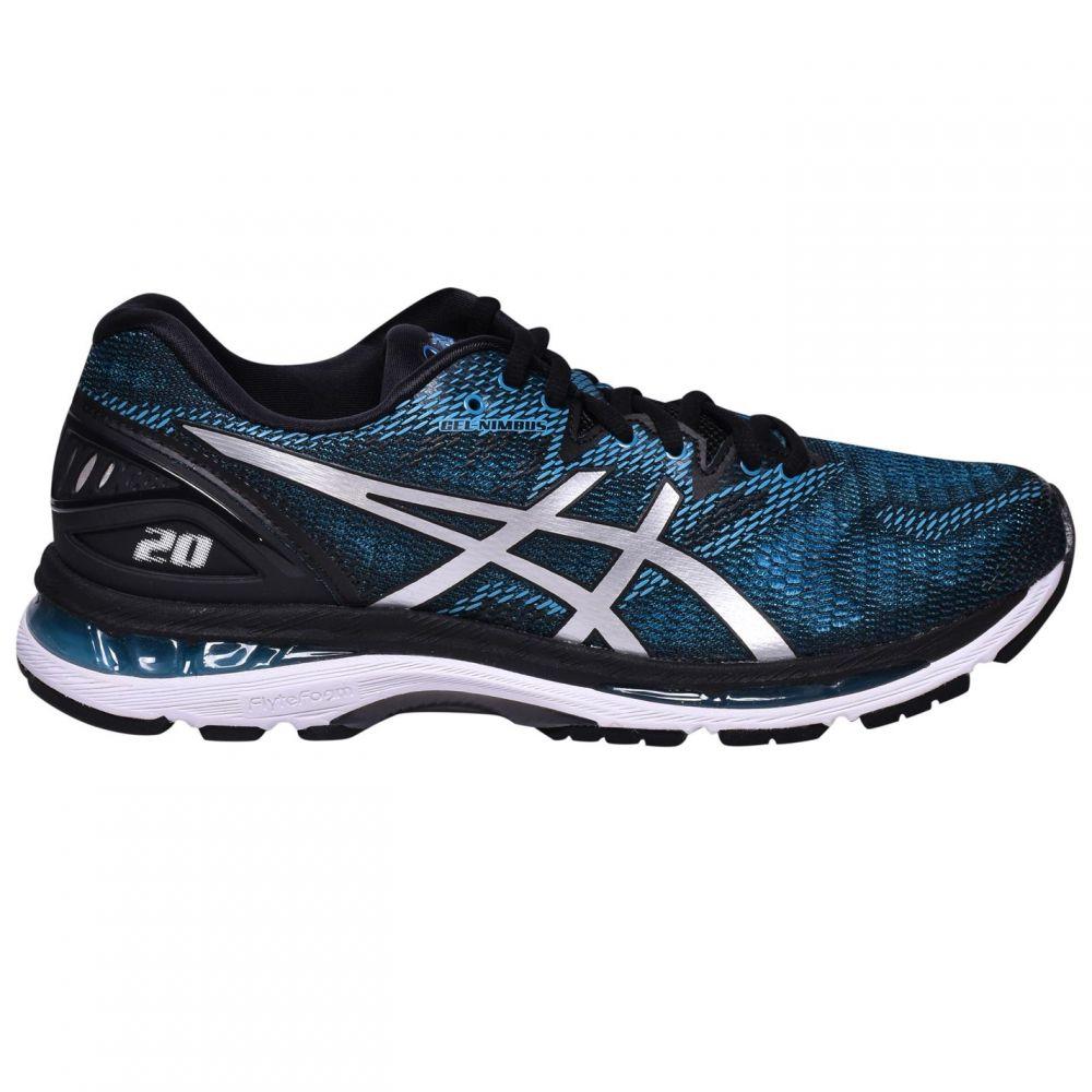アシックス Asics メンズ スニーカー シューズ・靴【Gel-Nimbus 20 Trainers】Blue/White/Blk