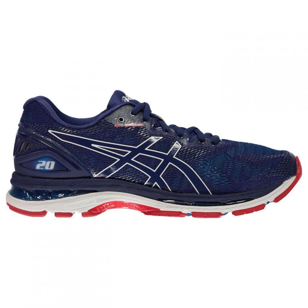 アシックス メンズ フィットネス・トレーニング シューズ・靴 【サイズ交換無料】 アシックス Asics メンズ フィットネス・トレーニング シューズ・靴【Gel Nimbus 20 Running Shoes】Blue/Blue