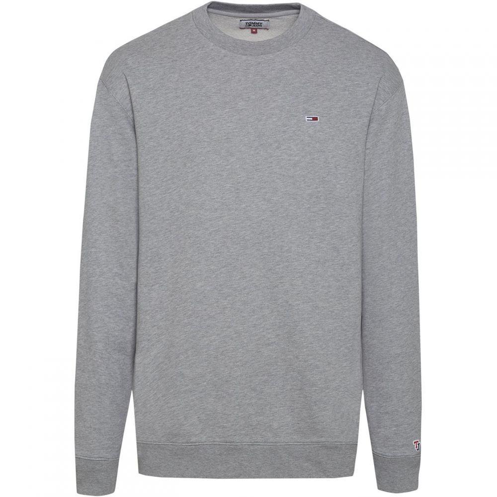 トミー ヒルフィガー Tommy Hilfiger メンズ スウェット・トレーナー トップス【Classic Sweatshirt】Light Grey