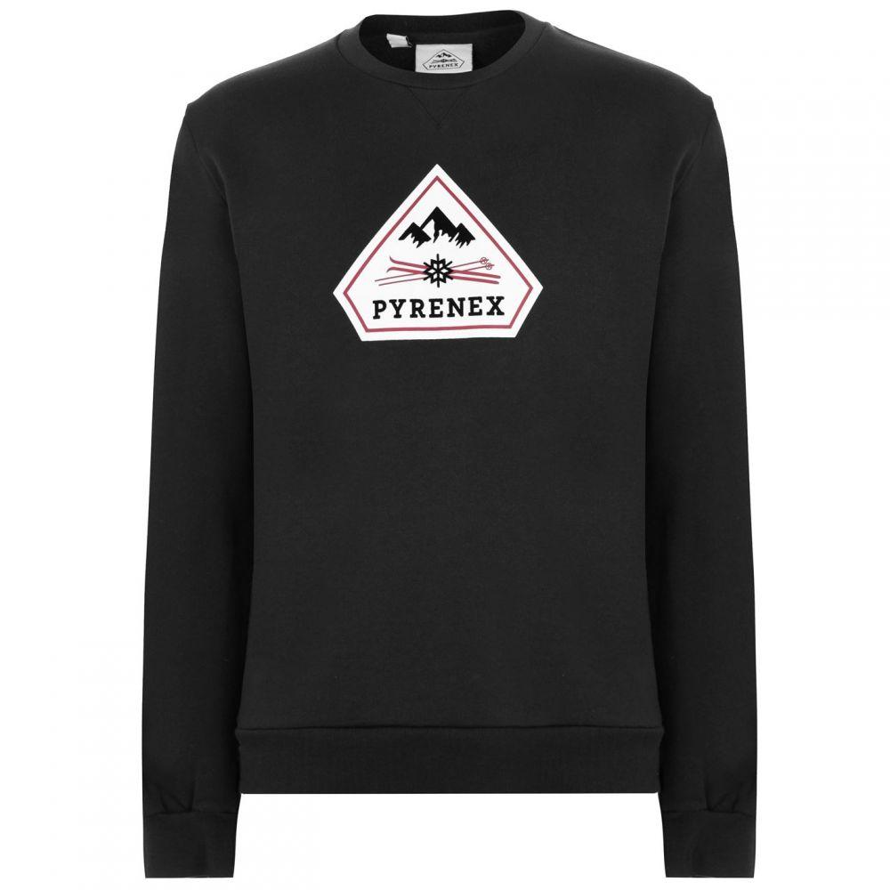 ピレネックス PYRENEX メンズ スウェット・トレーナー トップス【Charles Sweatshirt】Black