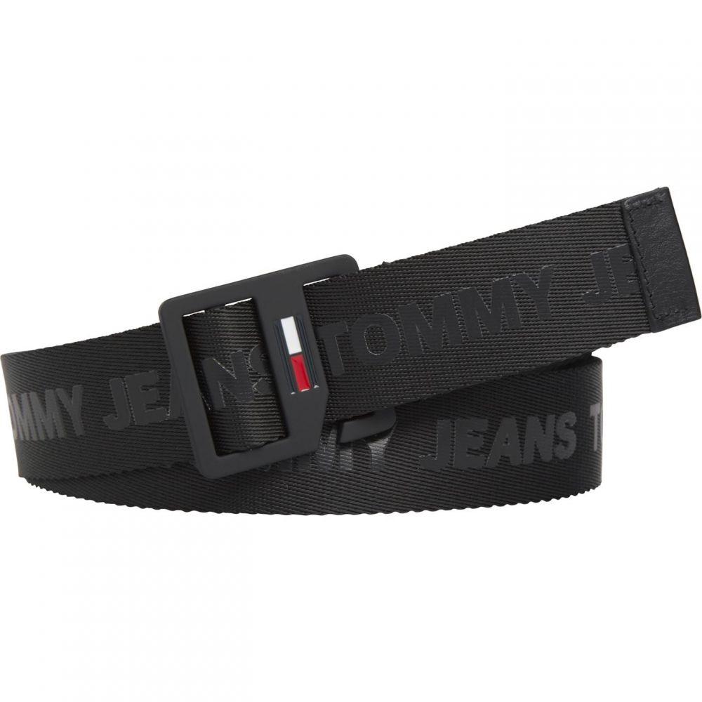 トミー ジーンズ Tommy Jeans メンズ ベルト 【Dring Web Belt Sn02】Black