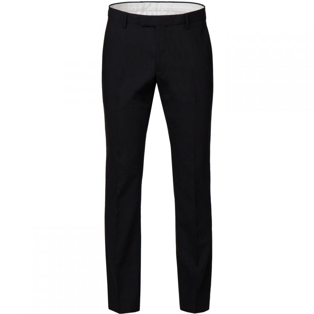 レーシング グリーン Racing Green メンズ スラックス ボトムス・パンツ【Laurel Black Dresswear Trouser】Black