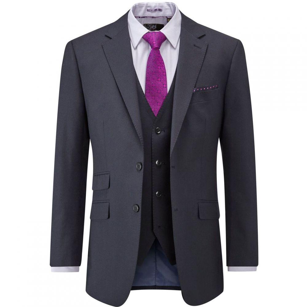 スコープス Skopes メンズ スーツ・ジャケット アウター【Madison Wool Suit Jacket】Navy