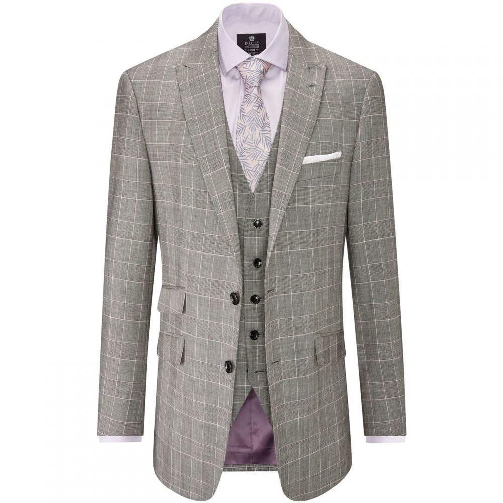 スコープス Skopes メンズ スーツ・ジャケット アウター【Mazara Wool Suit Jacket】Grey