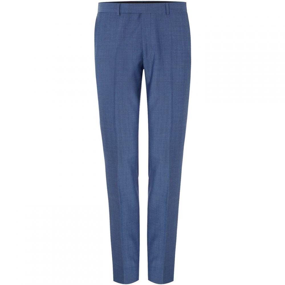 ケネス コール Kenneth Cole メンズ スラックス ボトムス・パンツ【Bladon Slim Flat Front Suit Trousers】Light Blue
