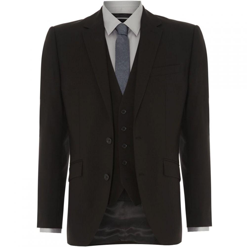 ケネス コール Kenneth Cole メンズ スーツ・ジャケット アウター【Hudson Panama Suit Jacket】Black