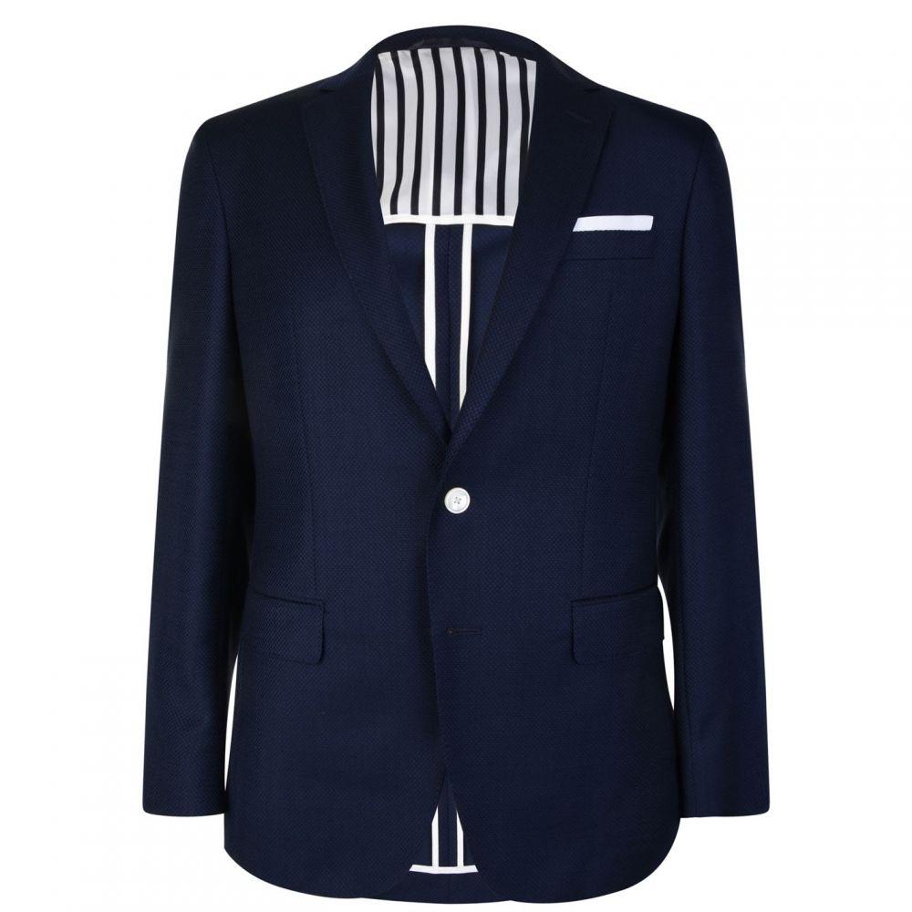 ヒューゴ ボス Boss メンズ スーツ・ジャケット アウター【Weave Textured Blazer】Navy
