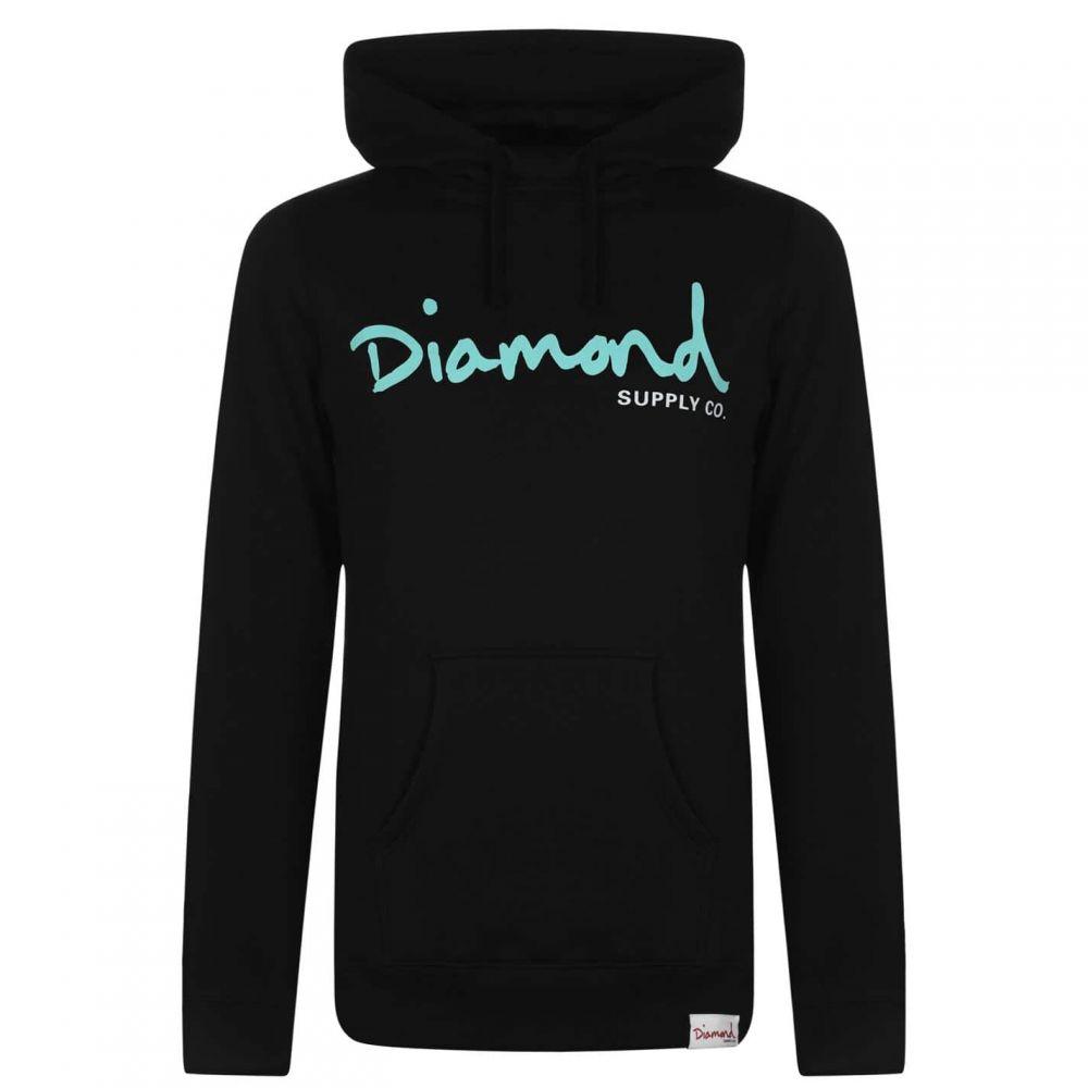ダイアモンドサプライ メンズ トップス パーカー サイズ交換無料 Diamond OTH Black Script 限定特価 Co. Supply 新品 送料無料 Hoodie