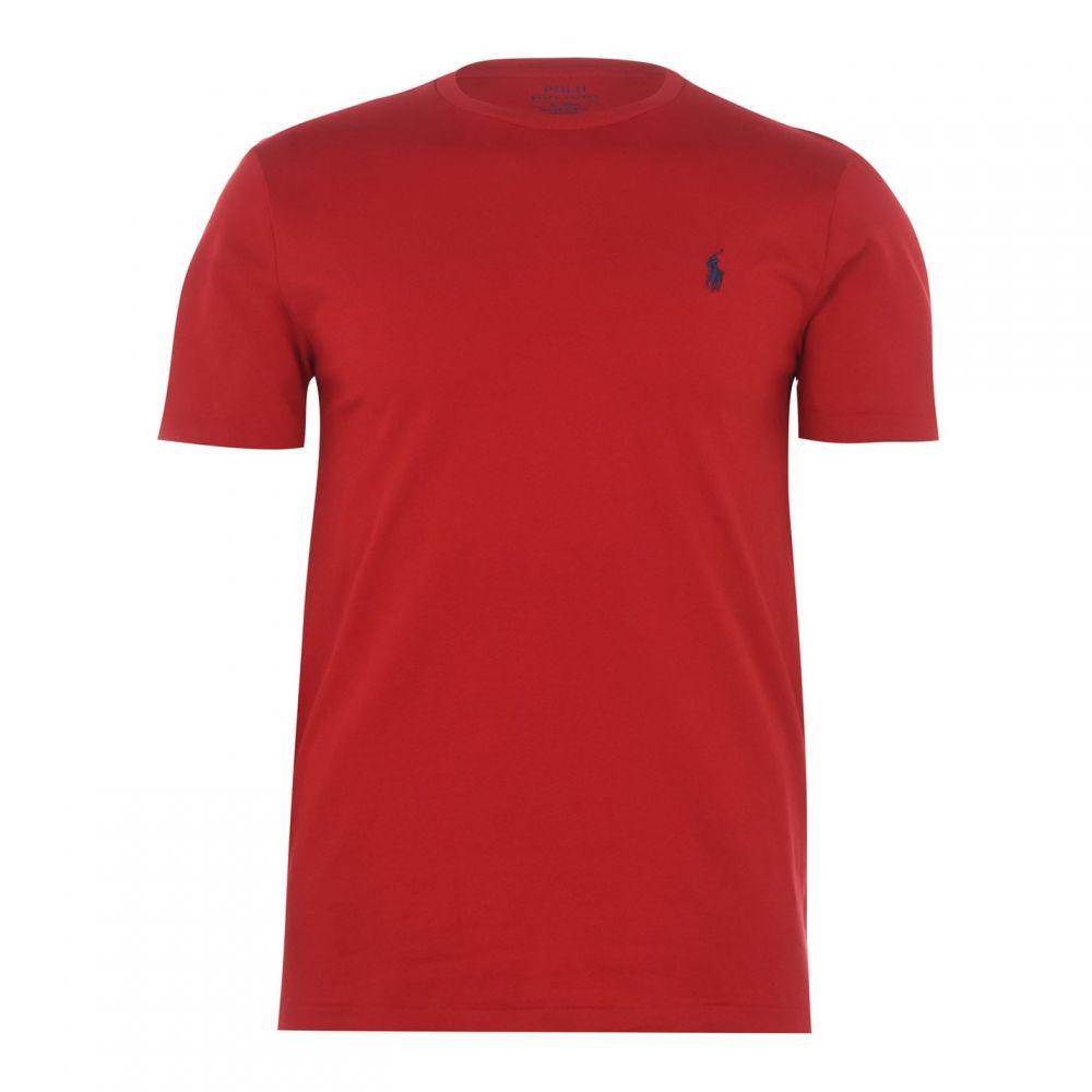 ラルフ ローレン Polo Ralph Lauren メンズ Tシャツ トップス【Slim Custom T-Shirt】RL Red