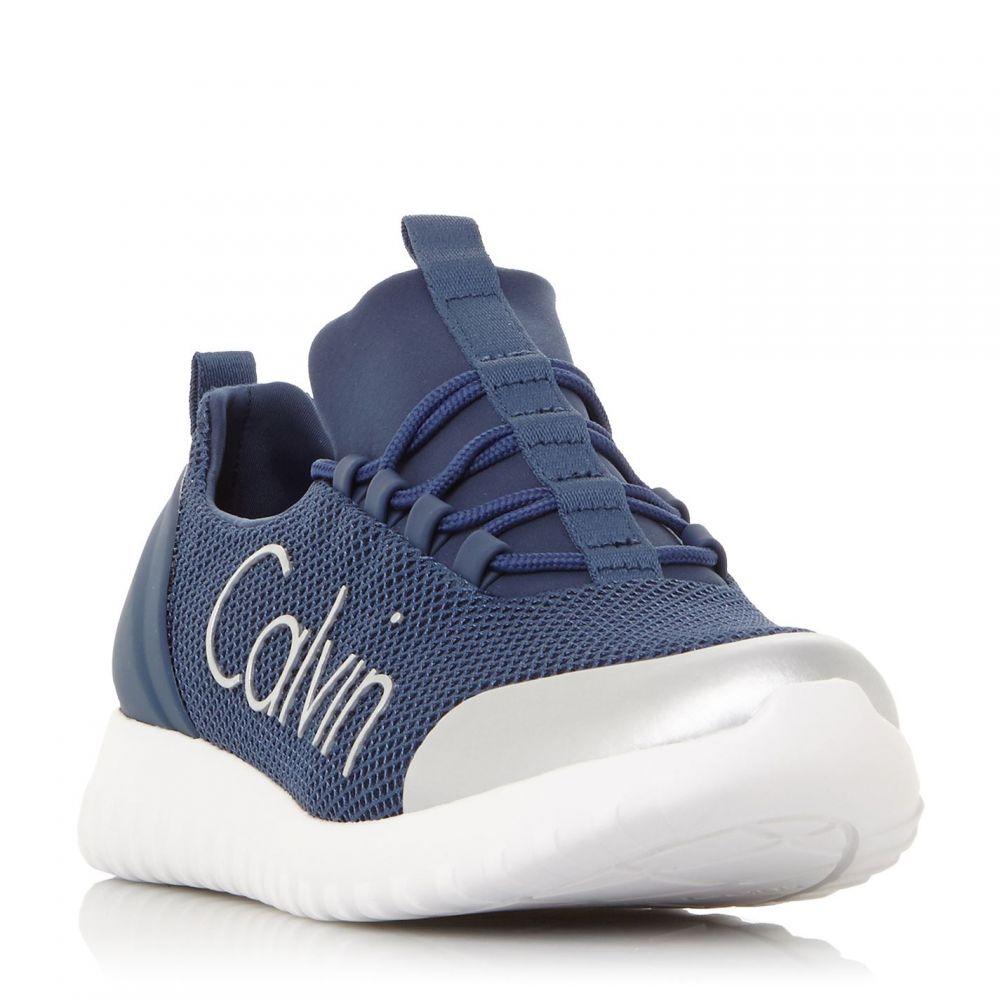 カルバンクライン Calvin Klein メンズ スニーカー シューズ・靴【Ron Mesh Sport Trainers】Navy