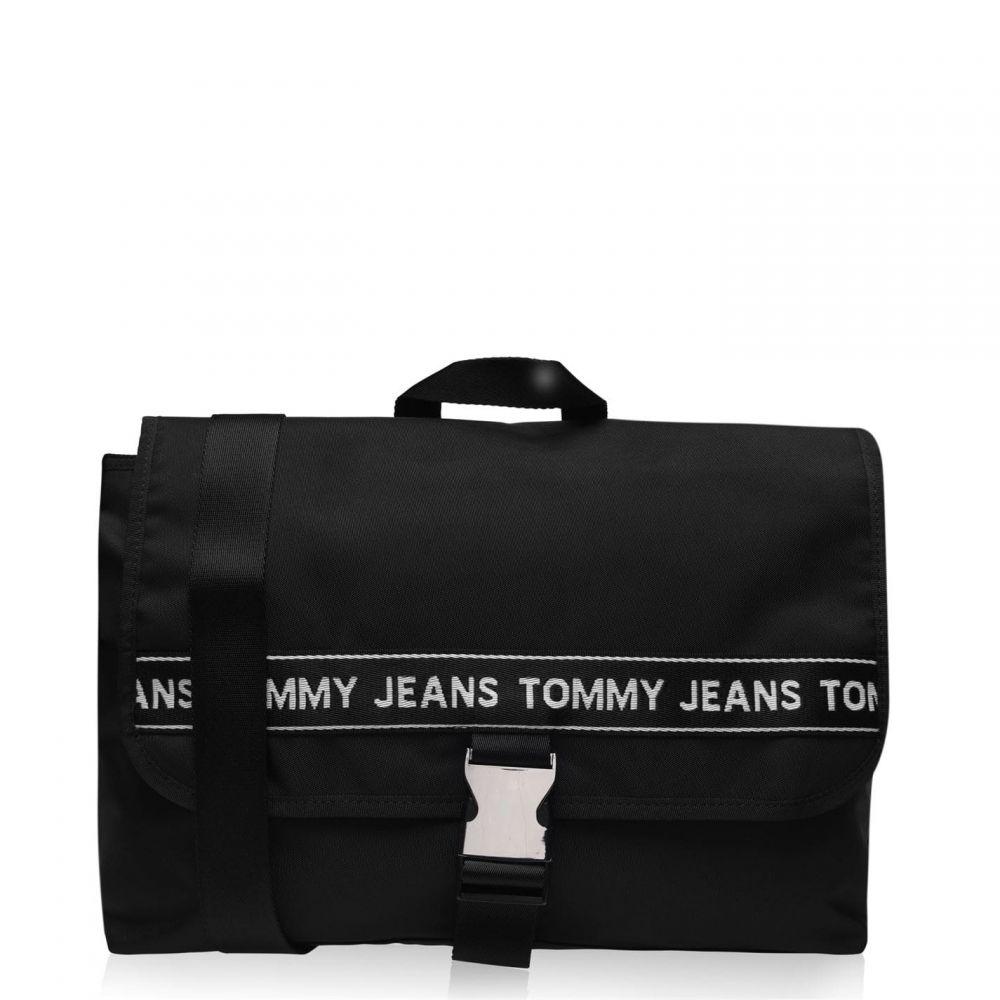トミー ジーンズ Tommy Jeans メンズ メッセンジャーバッグ バッグ【Taping Messenger Bag】Black