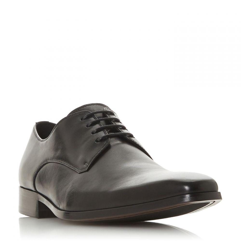 デューン Dune メンズ シューズ・靴 【Summary Chisel Toe Gibson Shoes】Black