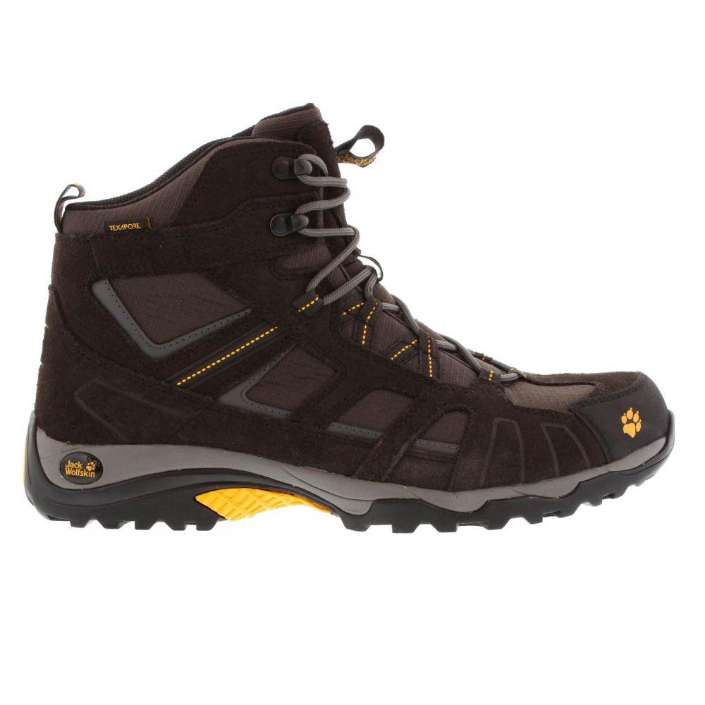 ジャックウルフスキン Jack Wolfskin メンズ ハイキング・登山 ブーツ シューズ・靴【Vojo Hike Mid Texapore Hiking Boots】Burly Yellow