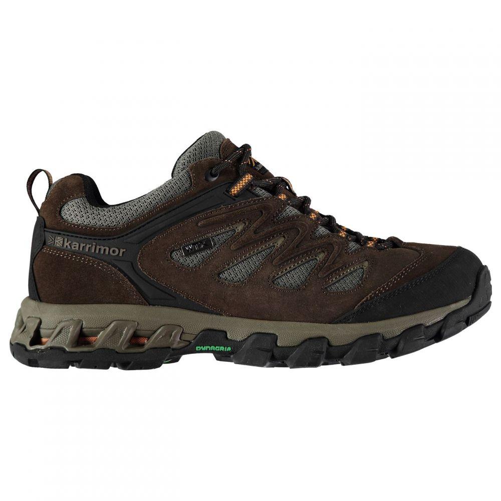 カリマー Karrimor メンズ ランニング・ウォーキング シューズ・靴【Merlin Low Walking Shoes】Brown