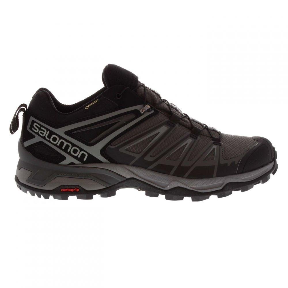 サロモン Salomon メンズ ランニング・ウォーキング シューズ・靴【X Ultra 3 GTX Low Walking Shoes】Black/Magnet