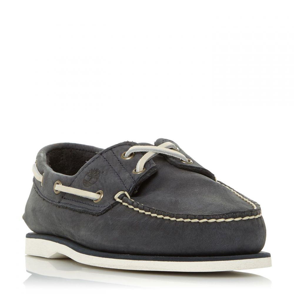 ティンバーランド Timberland メンズ デッキシューズ シューズ・靴【A21Hx Nubuck Boat Shoes】Navy