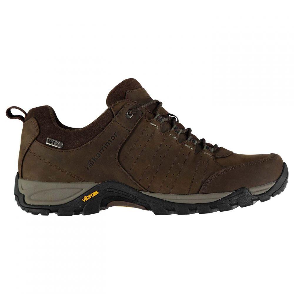 カリマー Karrimor メンズ ランニング・ウォーキング シューズ・靴【Journey WTX Walking Shoes】Brown