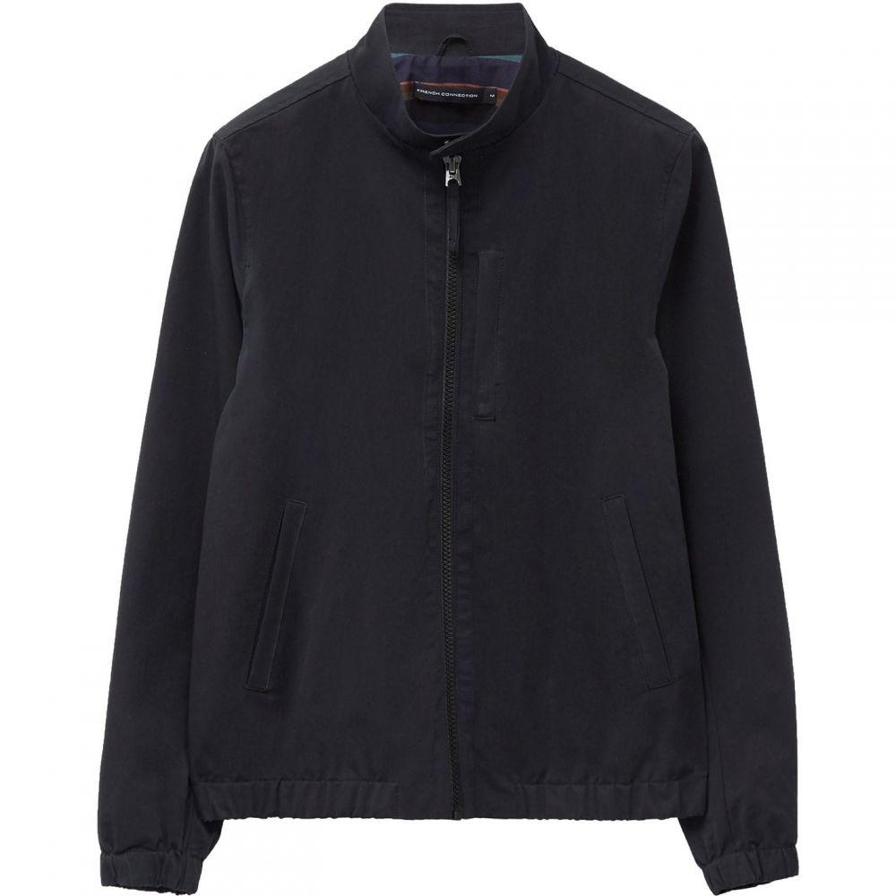 フレンチコネクション French Connection メンズ ジャケット スイングトップ アウター【Peached Harrington Jacket】Black
