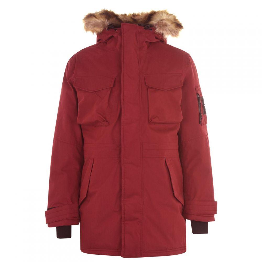 ティンバーランド Timberland メンズ コート アウター【Nordic Parka Jacket】Syrah