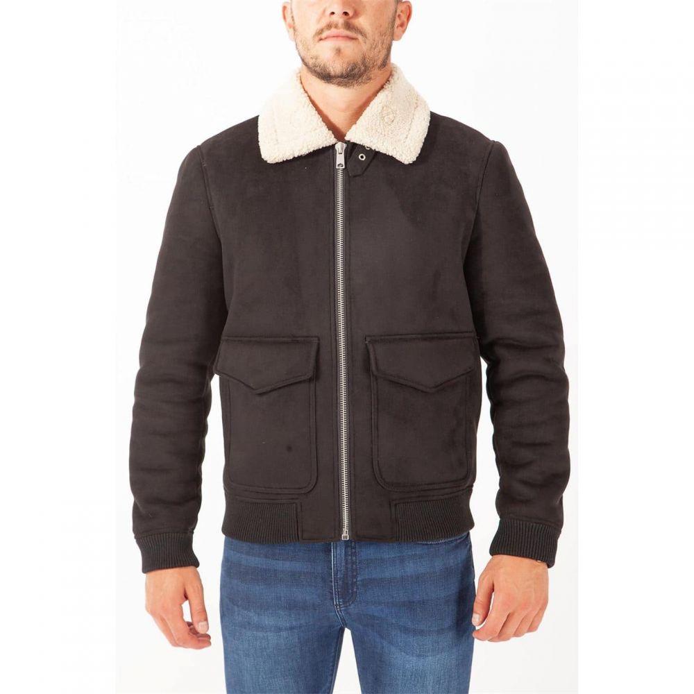 アビエイター ジャケット ハードコア アウター【Aviator Hardcore メンズ Jacket】Black/Cream