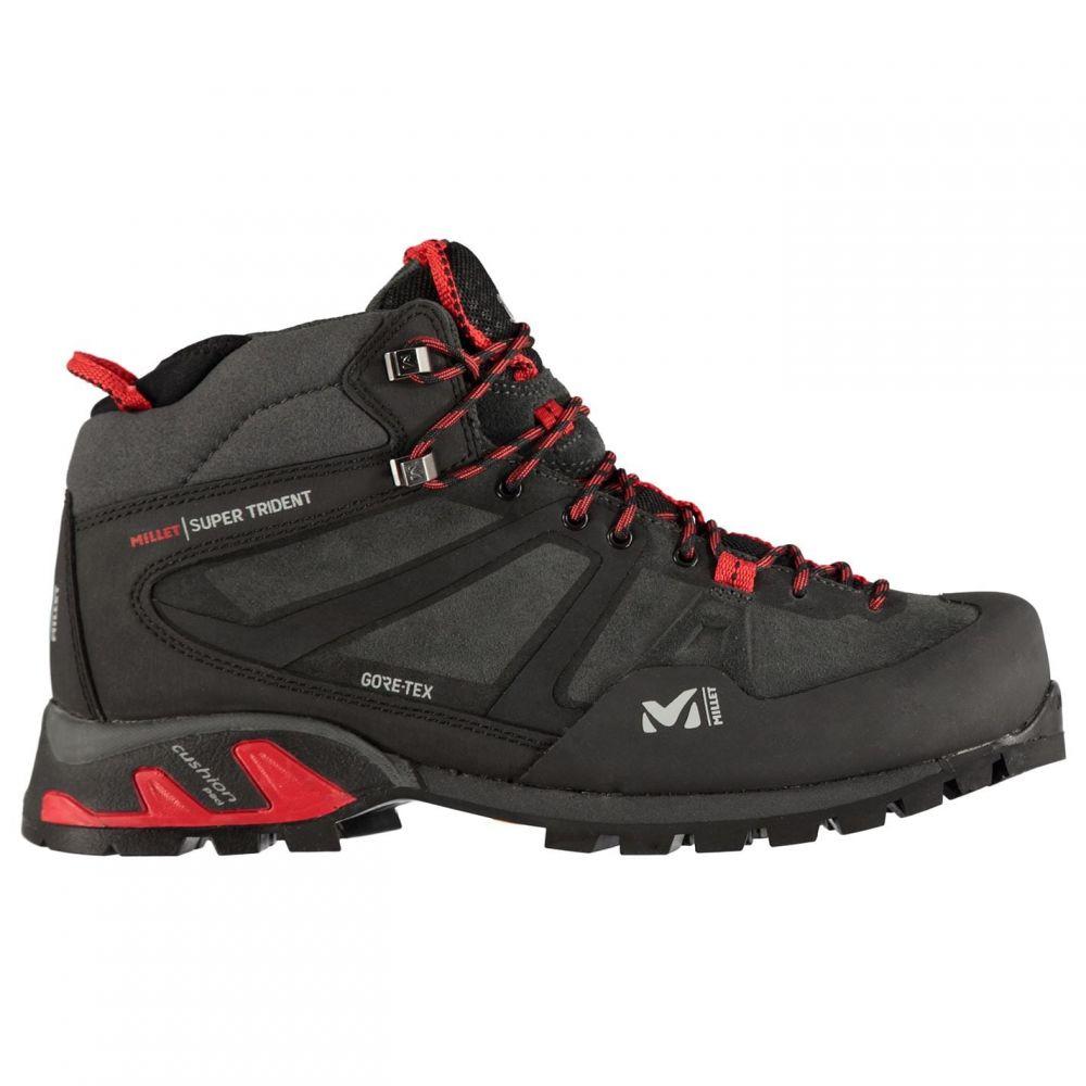 ミレー Millet メンズ ブーツ シューズ・靴【Super Trident GTX Mid Walking Boots】Tarmac