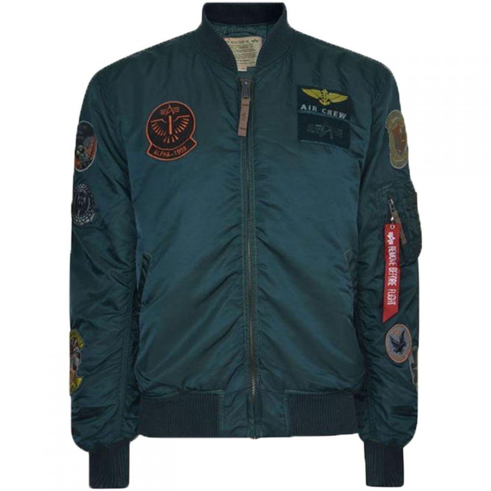 アルファ インダストリーズ Alpha Industries メンズ ブルゾン アウター【MA-1 Pilot Jacket】Blue