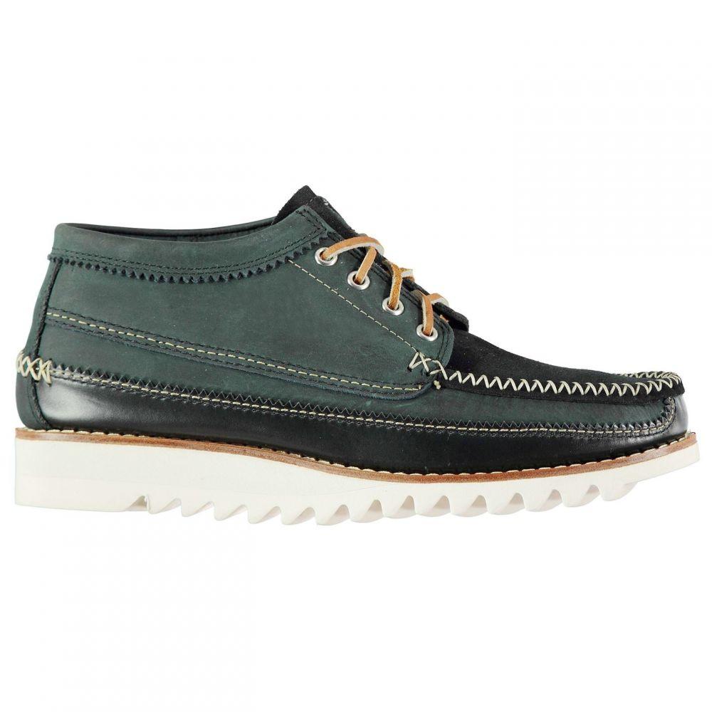 バス ウィージャンズ Bass Weejuns メンズ ブーツ シューズ・靴【Lyndon Mid Boots】Navy Suede