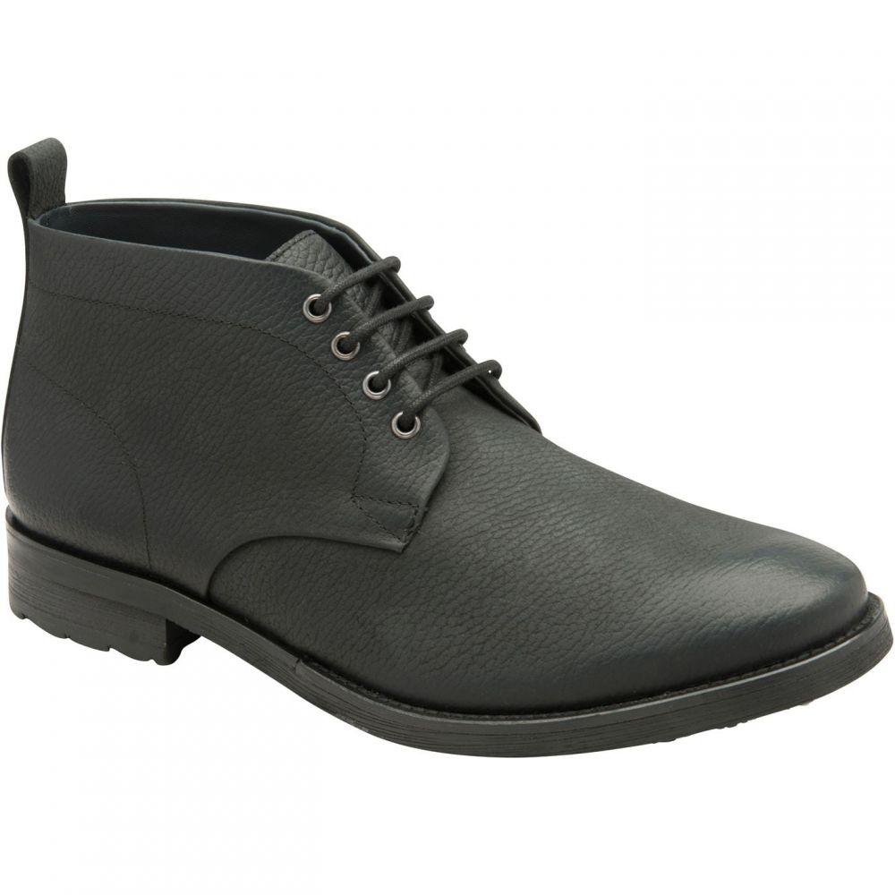 フランクライト Frank Wright メンズ ブーツ ショートブーツ シューズ・靴【Ashdown Ankle Boots】Black Leather
