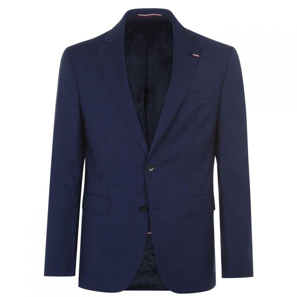 トミー ヒルフィガー Tommy Hilfiger Tailoring メンズ スーツ・ジャケット アウター【Tommy Chk Reg Fit Sn94】Denim Blue