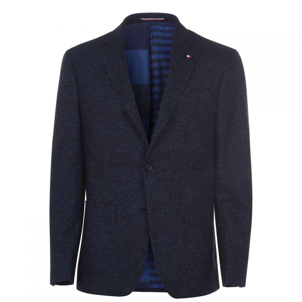 トミー ヒルフィガー Tommy Hilfiger Tailoring メンズ スーツ・ジャケット アウター【Tommy SB2 Reg Wool Sn94】Bright Blue DVA
