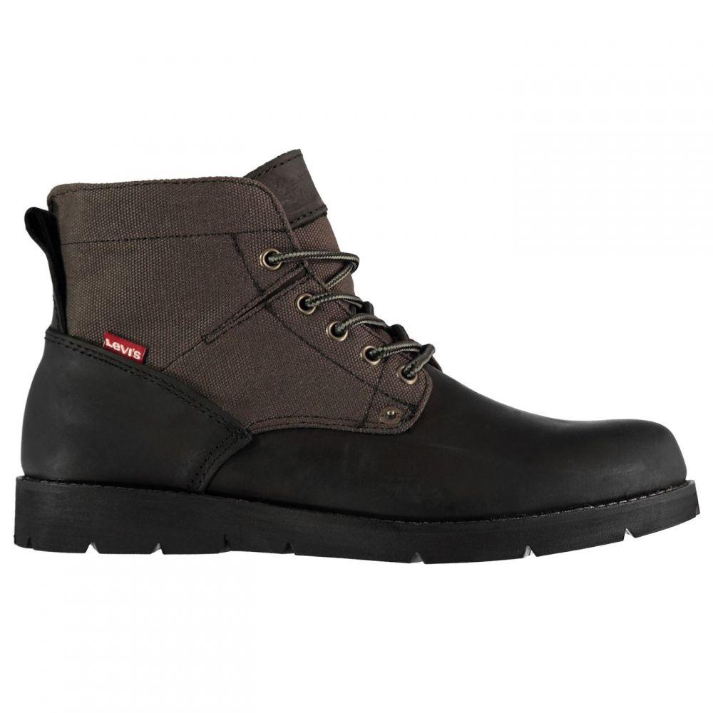 リーバイス Levis メンズ ブーツ シューズ・靴【Jax Military Boots】Black