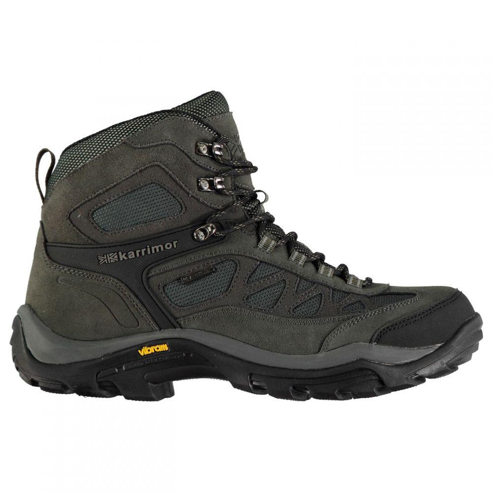 カリマー Karrimor メンズ ブーツ シューズ・靴【Aspen Mid Walking Boots】Charcoal