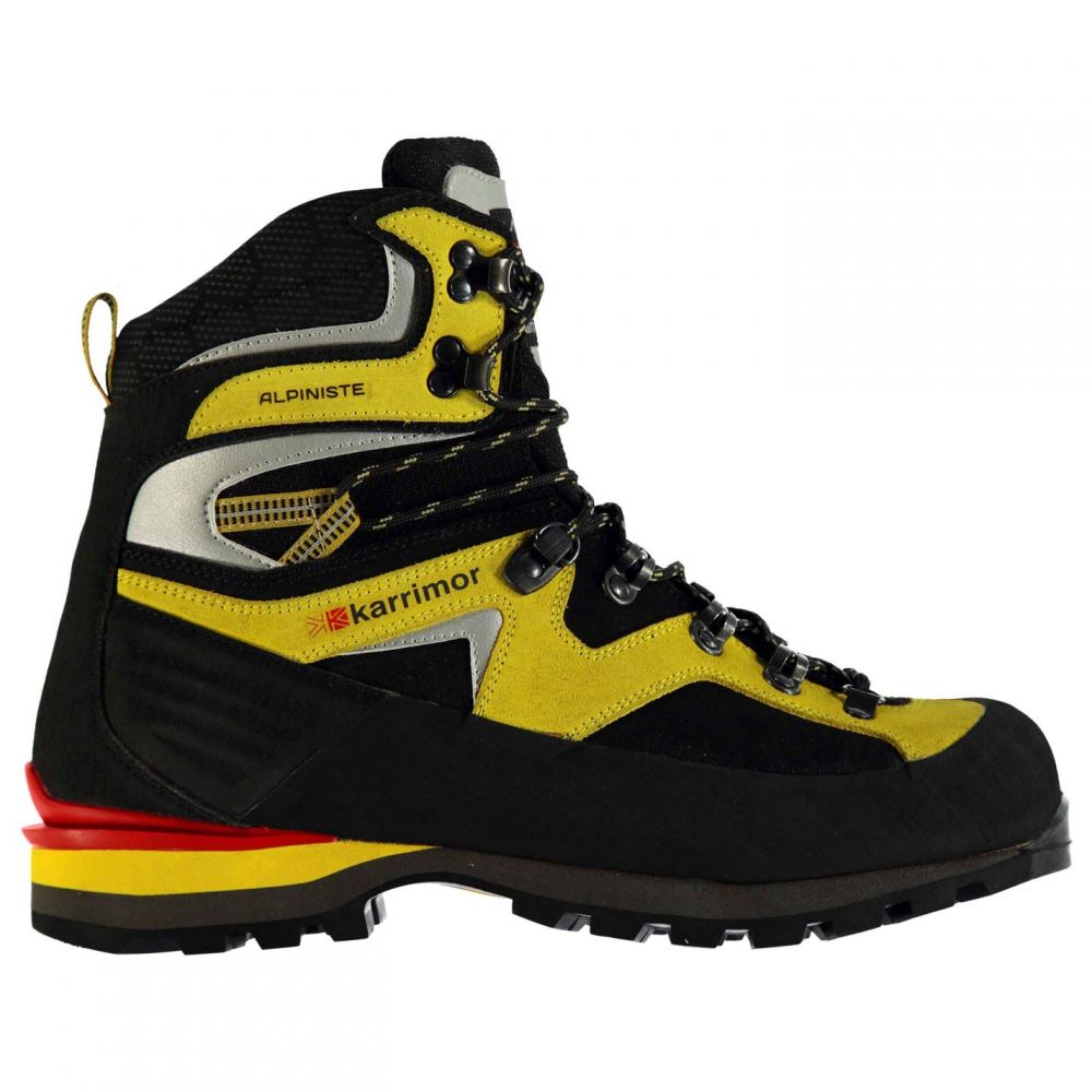 カリマー Karrimor メンズ ブーツ シューズ・靴【Alpiniste Mountain Boots】Black/Yellow