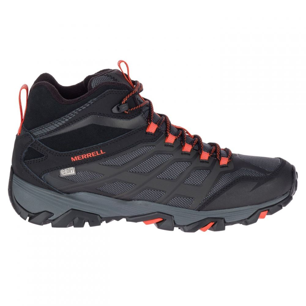 メレル Merrell メンズ ブーツ シューズ・靴【Moab FST Ice Thermo Walking Boots】Black/Fire