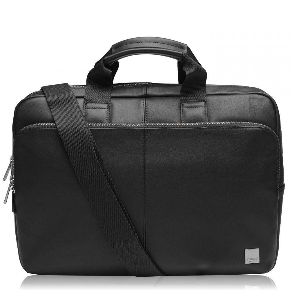 クノモ Knomo メンズ ビジネスバッグ・ブリーフケース バッグ【Newbury Briefcase 15in】Black in