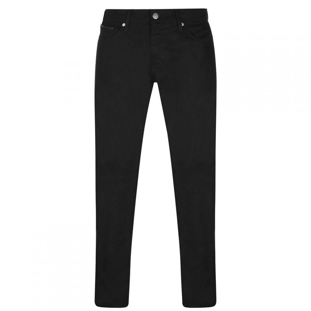 トミー ヒルフィガー Tommy Hilfiger メンズ ジーンズ・デニム ボトムス・パンツ【Tommy Slim Scanton Jeans】Black