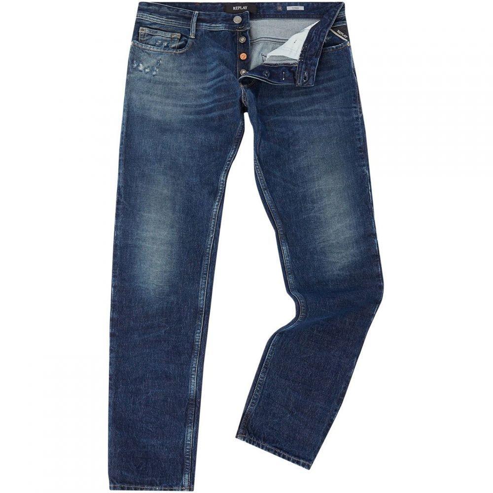 リプレイ Replay メンズ ジーンズ・デニム ボトムス・パンツ【Slim Fit Thyber Jeans】Denim