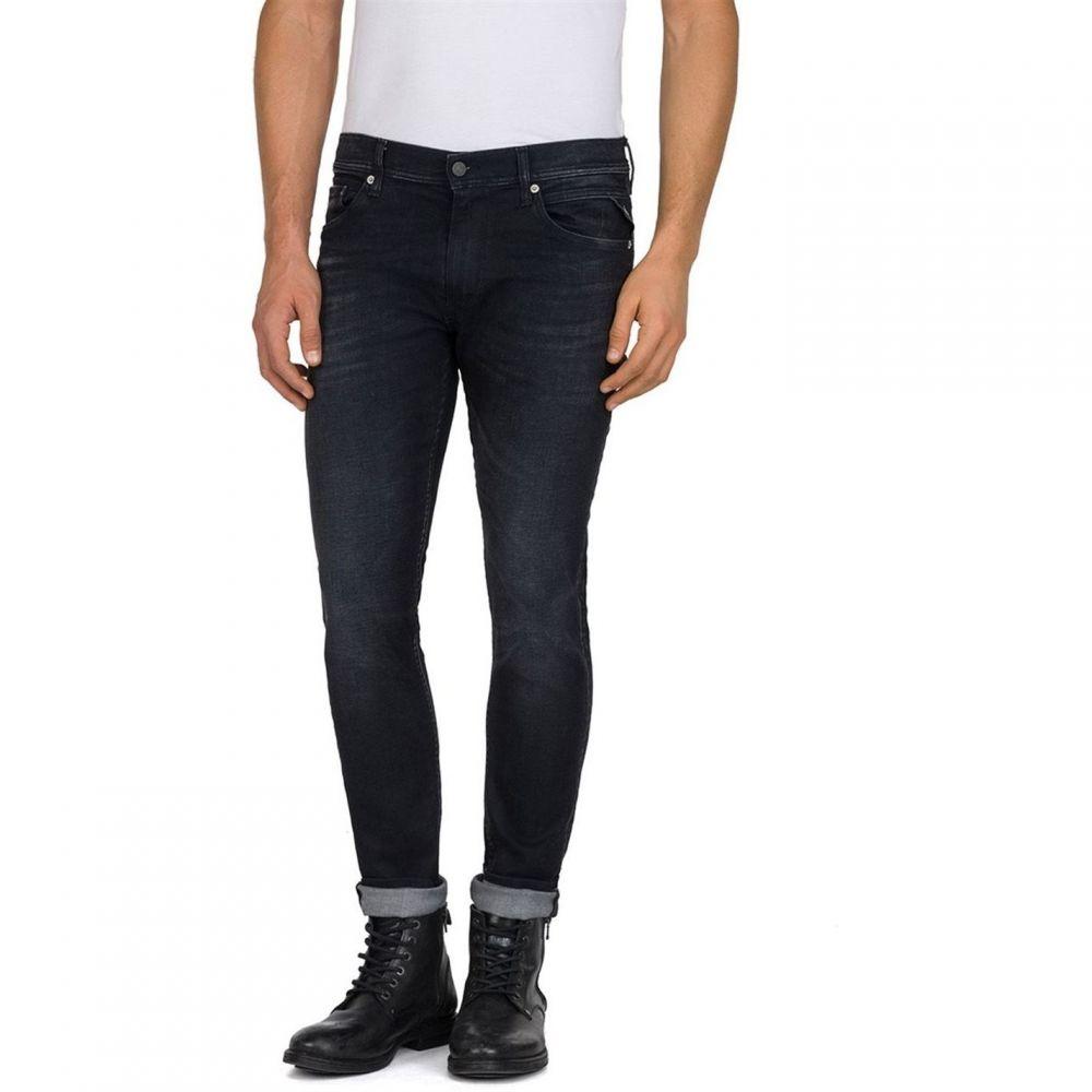 リプレイ Replay メンズ ジーンズ・デニム ボトムス・パンツ【Skinny Fit Jondrill Jeans】Black