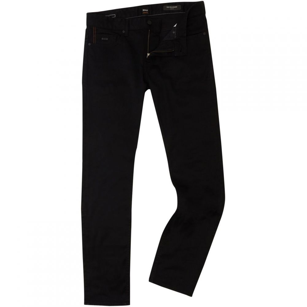 ヒューゴ ボス Boss メンズ ジーンズ・デニム ボトムス・パンツ【Delaware Slim Fit Jeans】Black