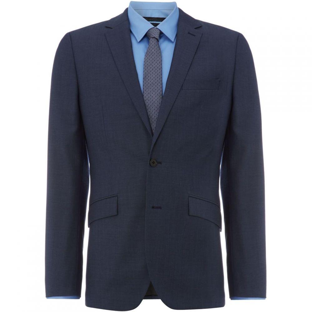 ケネス コール Kenneth Cole メンズ スーツ・ジャケット アウター【Byram Twill Travel Suit Jacket】Blue